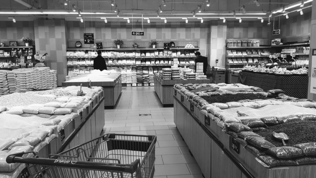 Chineischer Supermarkt