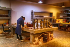 Terrakotta-Souvenir-Fabrik