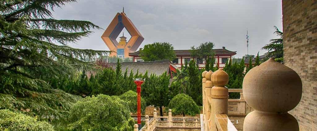 Famen Tempel und Namaste Dagoba