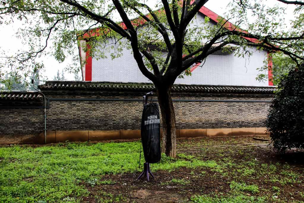 Punchingsack im Tempel?!