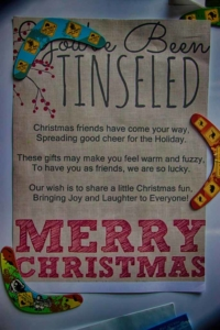 You've been tinseled!