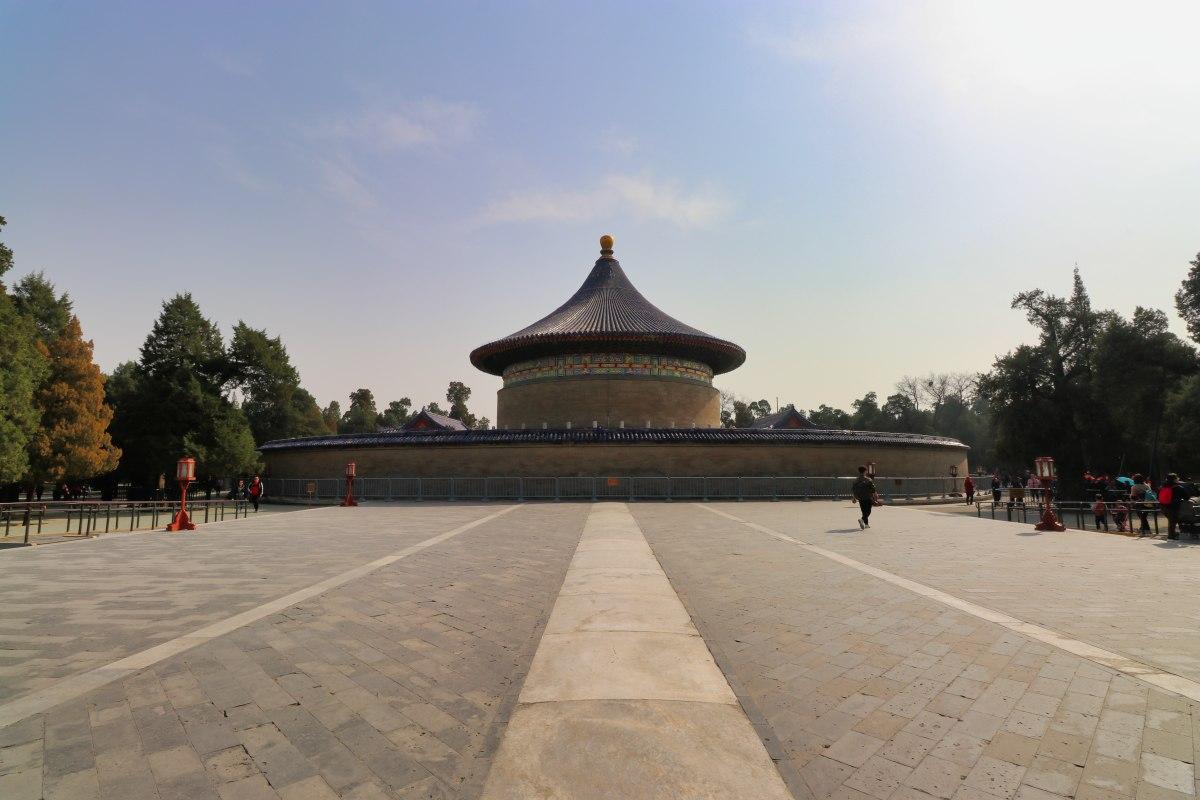Echomauer und Halle des Himmelsgewölbes im Pekinger Himmelstempel