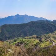 Die chinesische Mauer bei Mutianyu