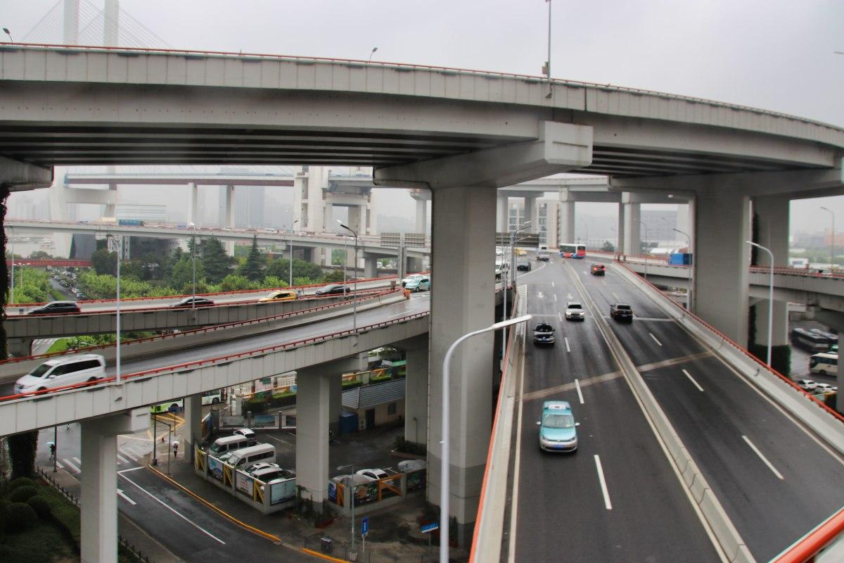Auffahrt Nanpu-Brücke