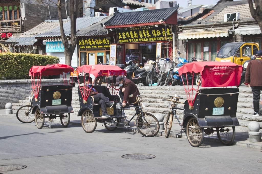 Rikschas am Pekinger Shichahai