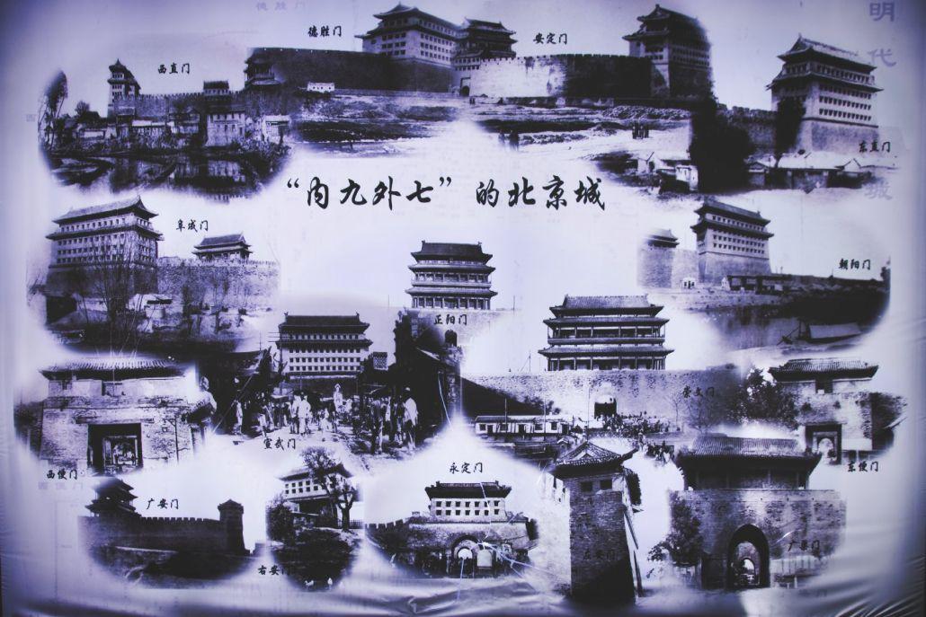 Schaubild: Pekings Stadttore