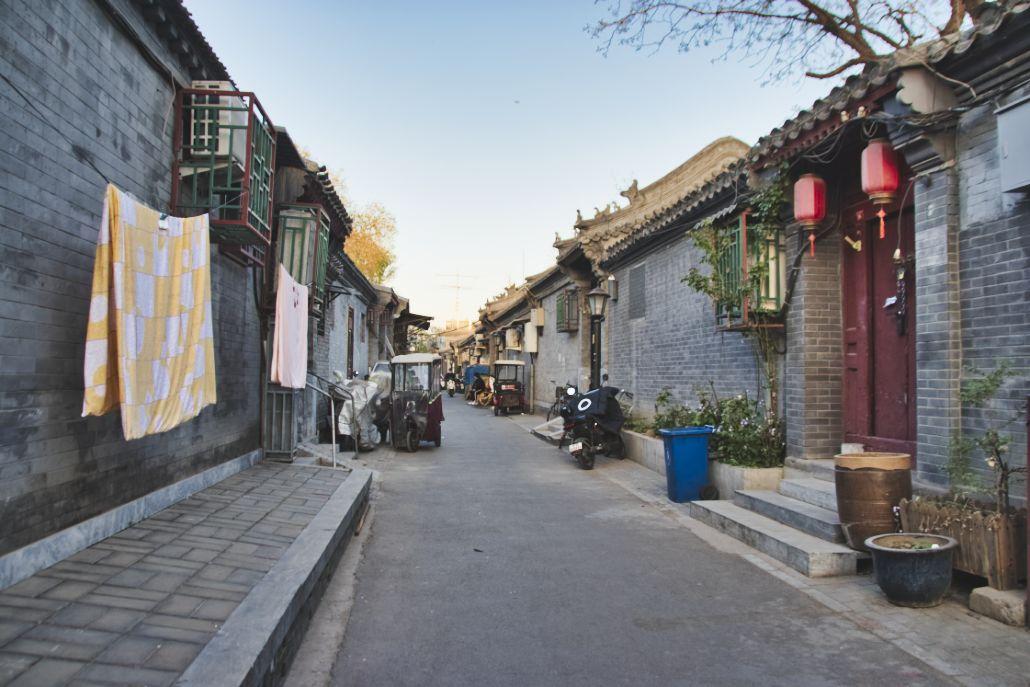 Typischer Pekinger Hutong