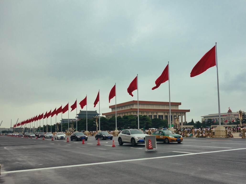 Tian'anmen mit Mao-Mausoleum