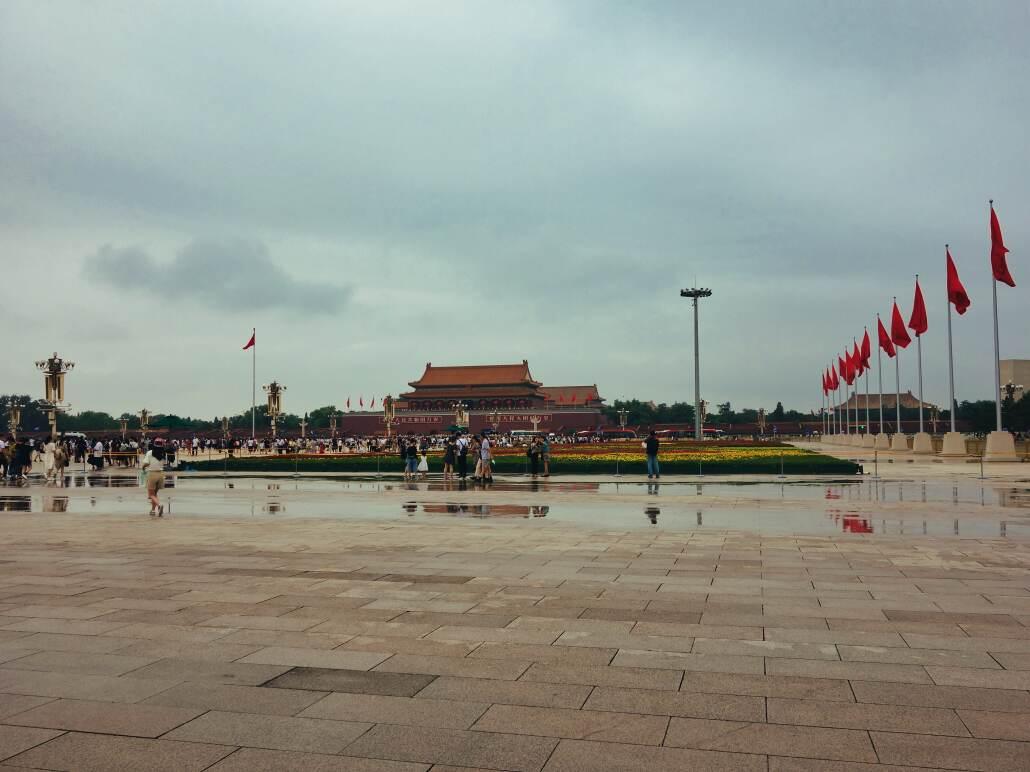 Tian'anmen, Blick zum Tor des Himmlischen Friedens